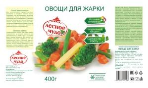 овощи для жарки 400гр